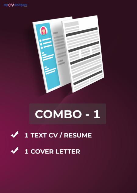 Combo 1 (Text, Cover Letter)