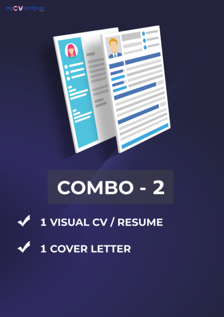 Combo 2 (Visual, Cover Letter)