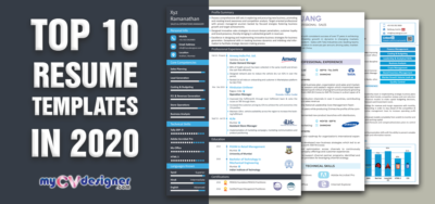 Top 10 Resume Templates in 2020