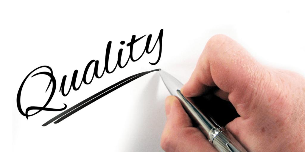 Quality matters, not quantity