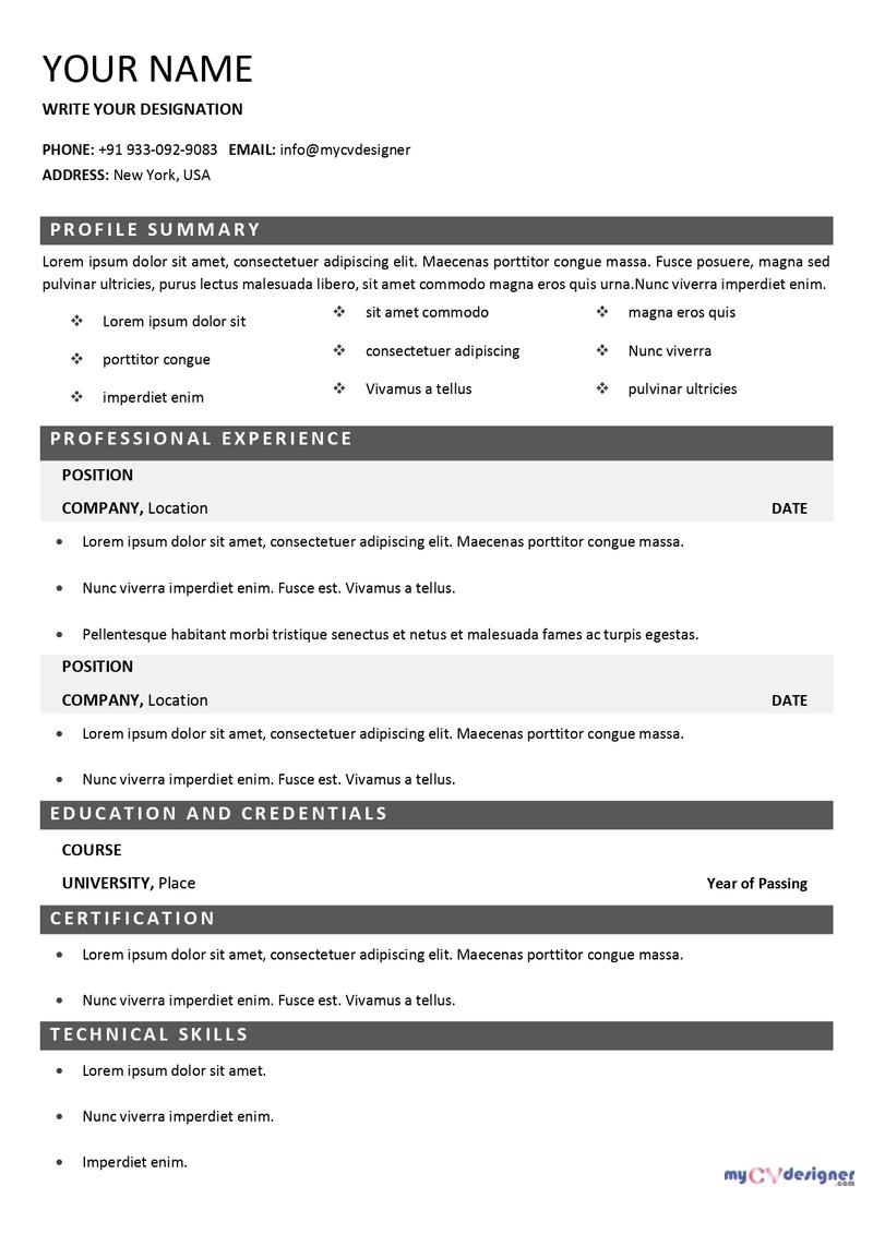 free-cv-template-MCDF0011-mycvdesigner.com