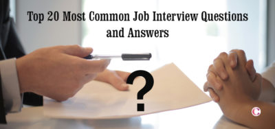 Read more about the article Top 20 Most Common Job Interview Questions and Answers