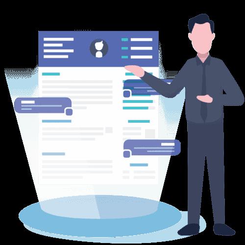 advantages of visual resume