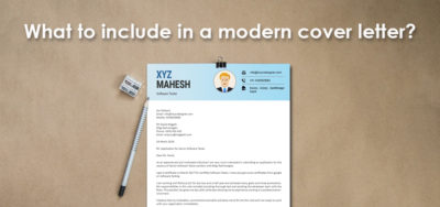 Read more about the article Modern Cover Letter Templates: What to include in it?