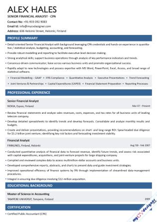 Text CV (MCDT0016)