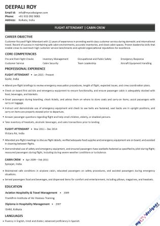 Text CV (MCDT0003)