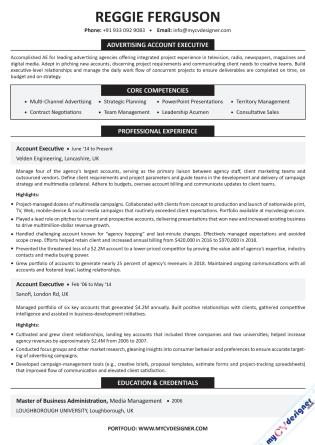 Text CV (MCDT0005)