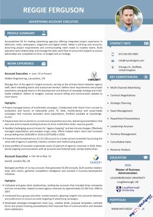 Visual CV (MCDV0009)