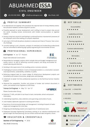 Visual CV (MCDV0016)