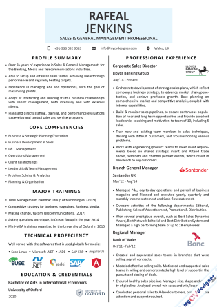 Visual CV (MCDV0047)