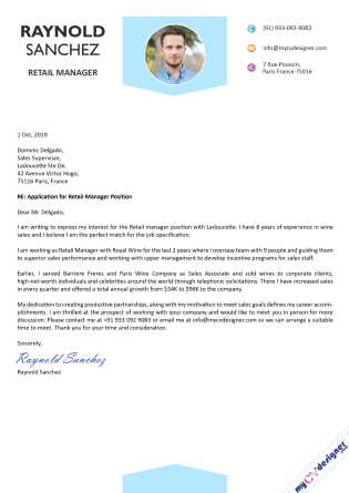 Cover Letter (MCDCL0085)